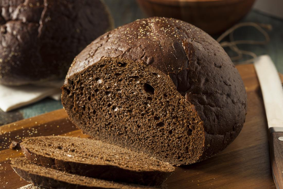 foods that lower blood sugar pumpernickel bread