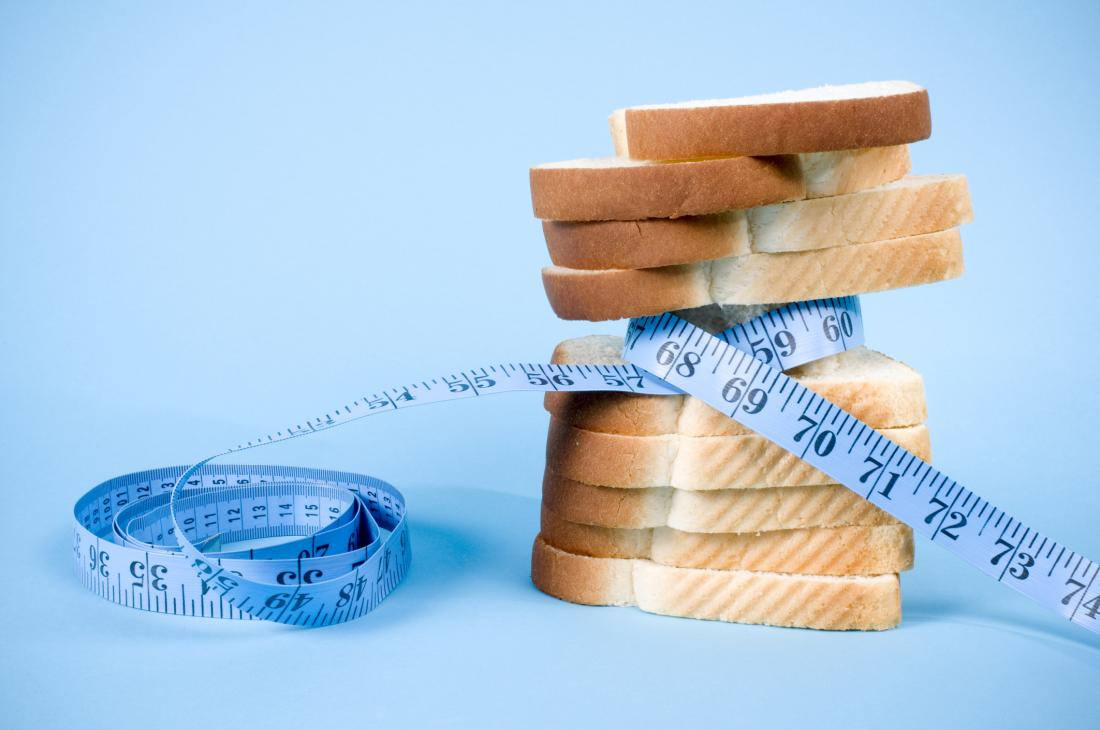 carbs with measuring tape