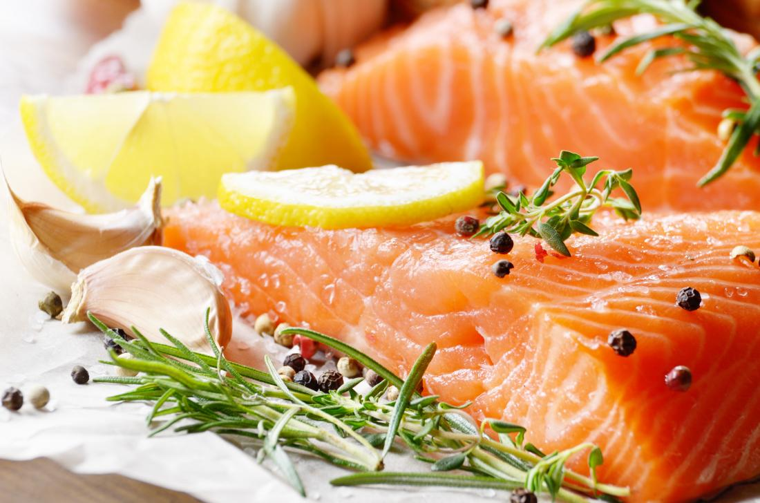 What to eat before a workout salmon