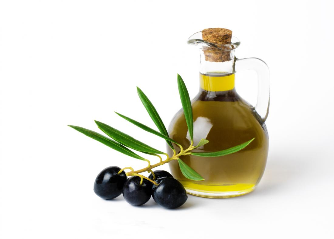 simple image of olive oil