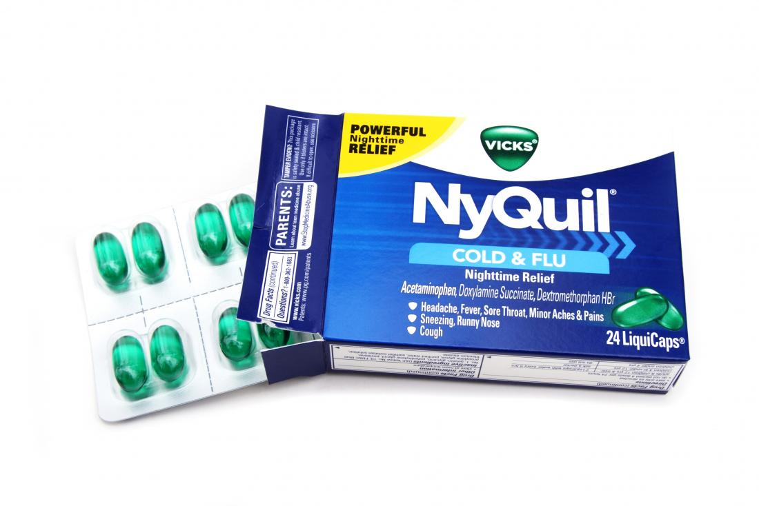 NyQuil packet