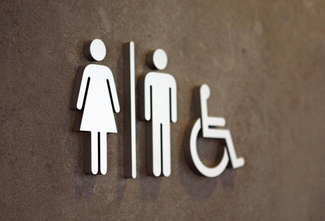 Restroom sign for Ally's law
