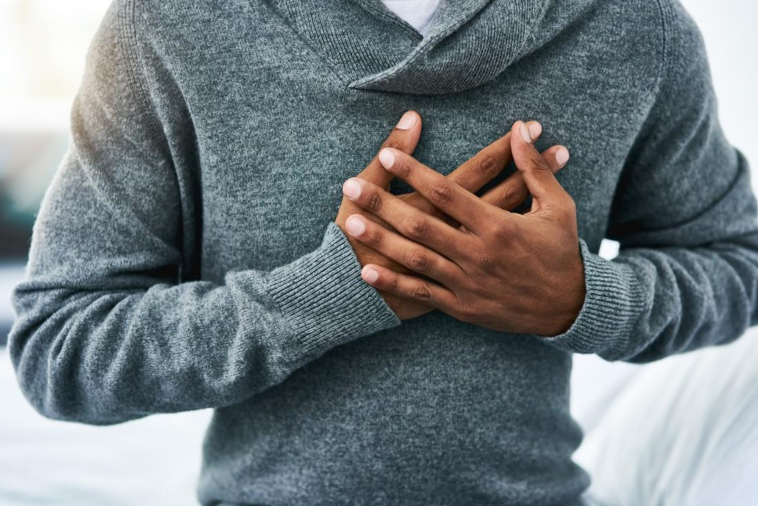 High estrogen levels can increase the risk of having a heart attack.
