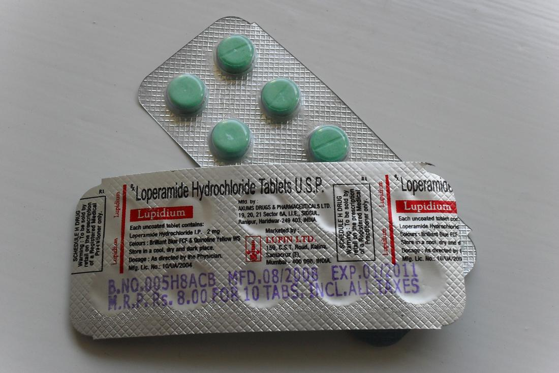 Loperamide tablets which can be use as an anti-diarrheal treatment for crohn's
