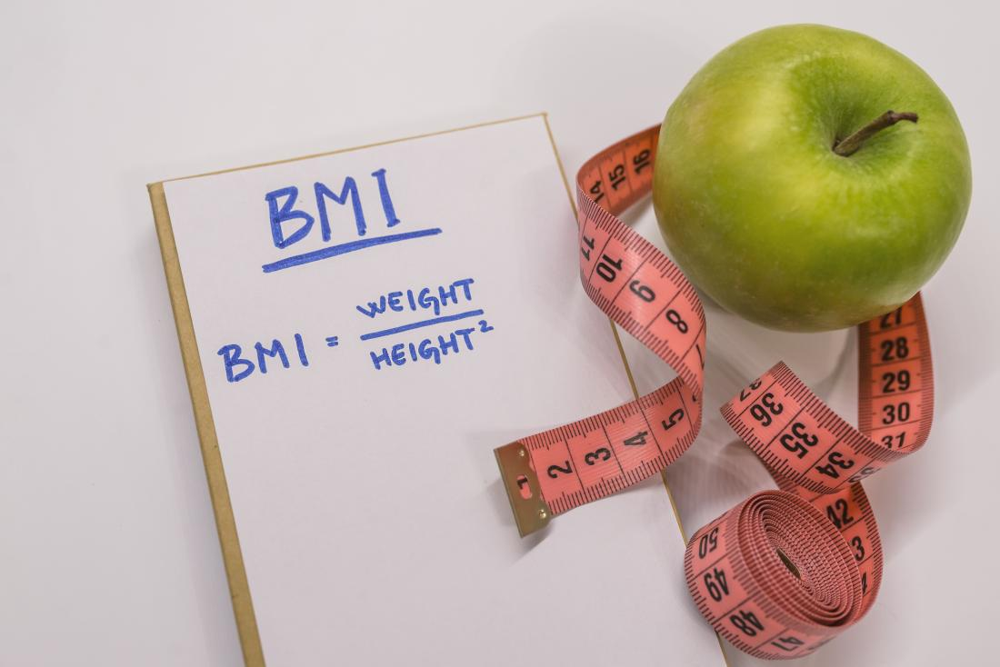 BMI takes into account height and weight.