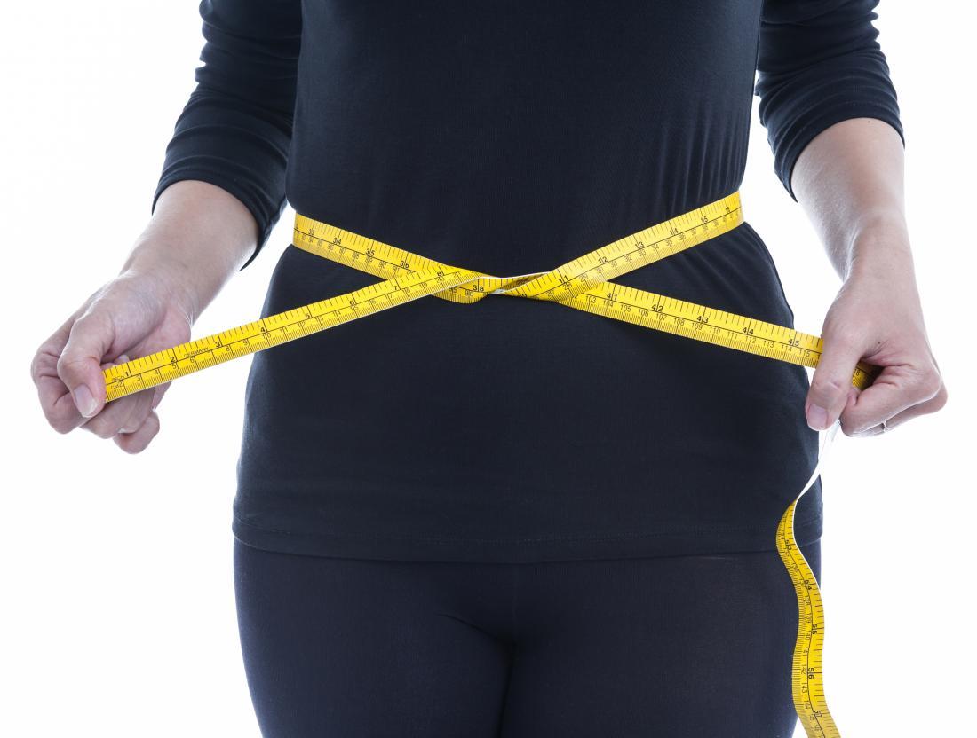 Waist size may be a useful indicator