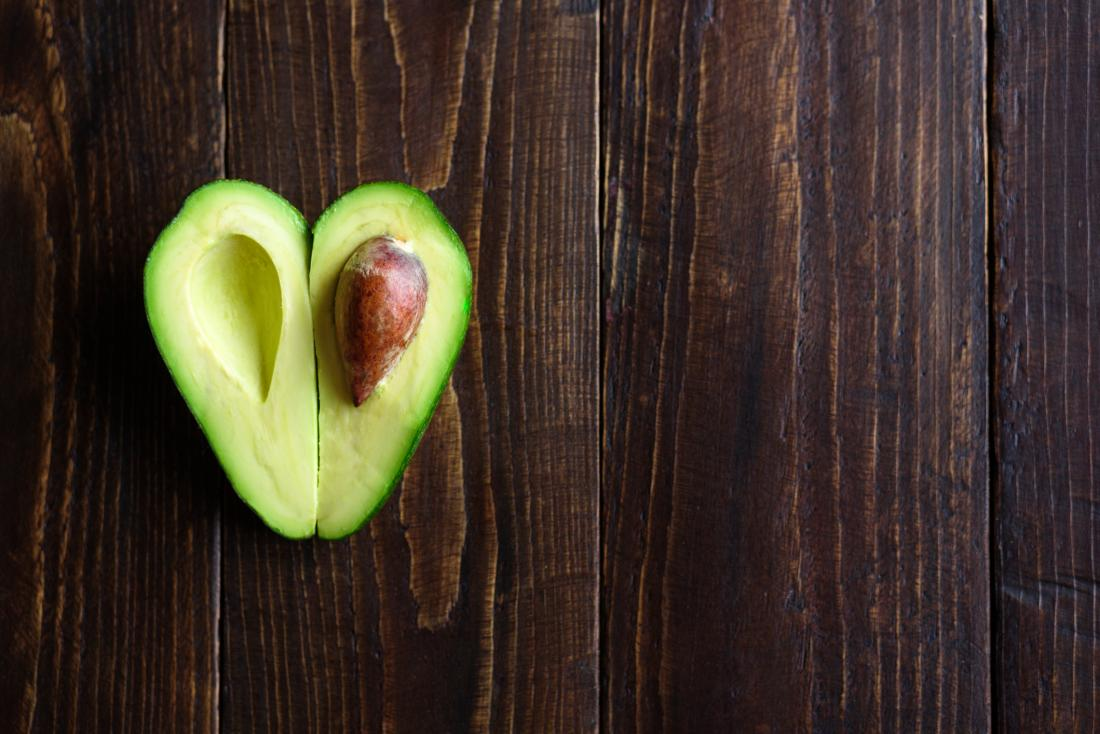 Avocado heart