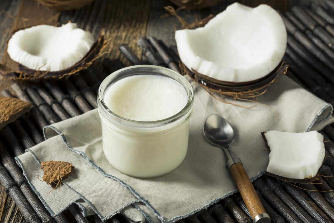 coconut oil is a good type of saturated fat