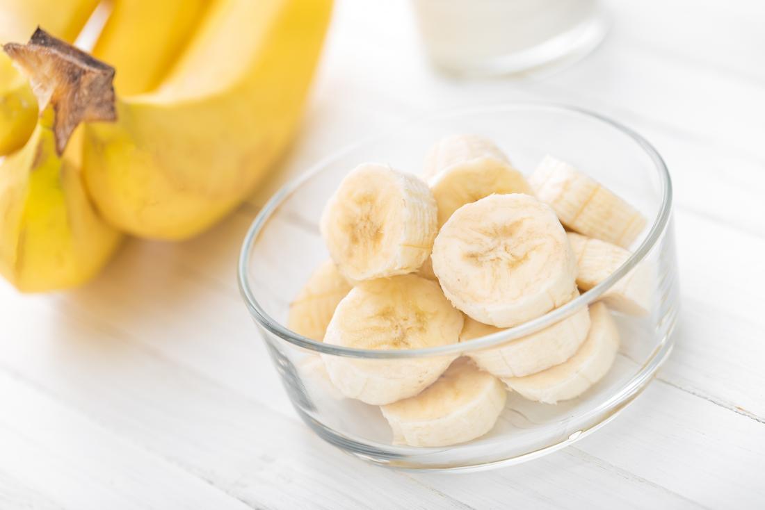 Бананы богаты калием.