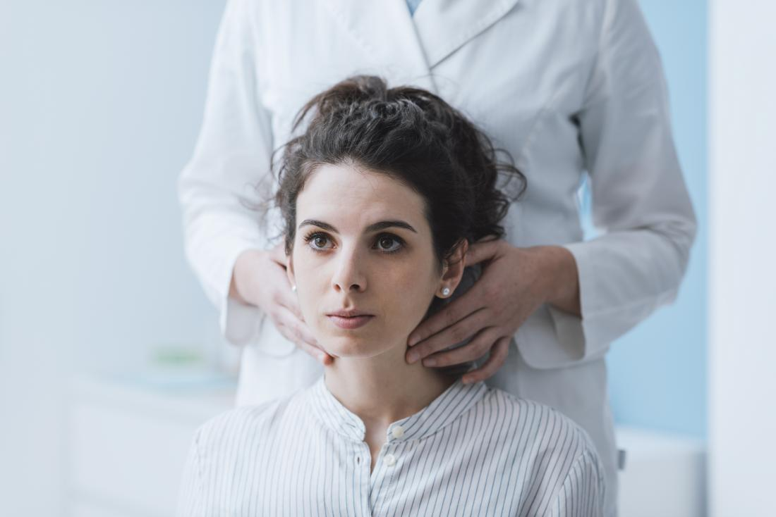 swollen lymph nodes in groin and neck female