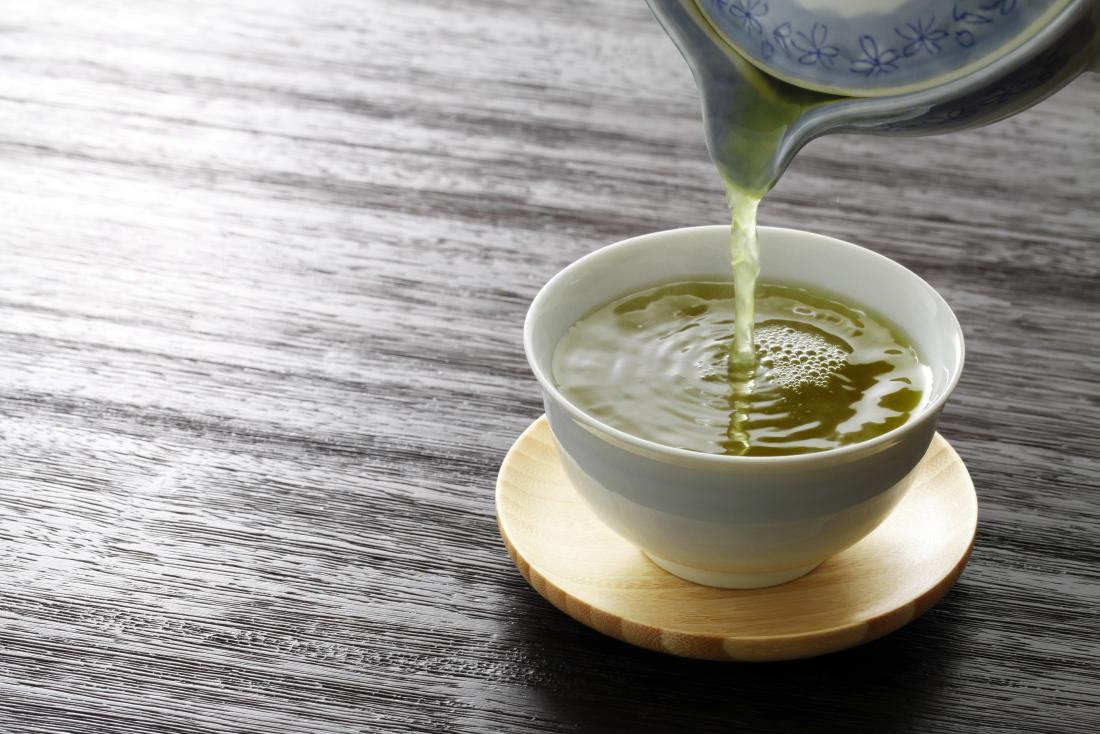 Green tea has many health benefits, such as aiding weight loss.