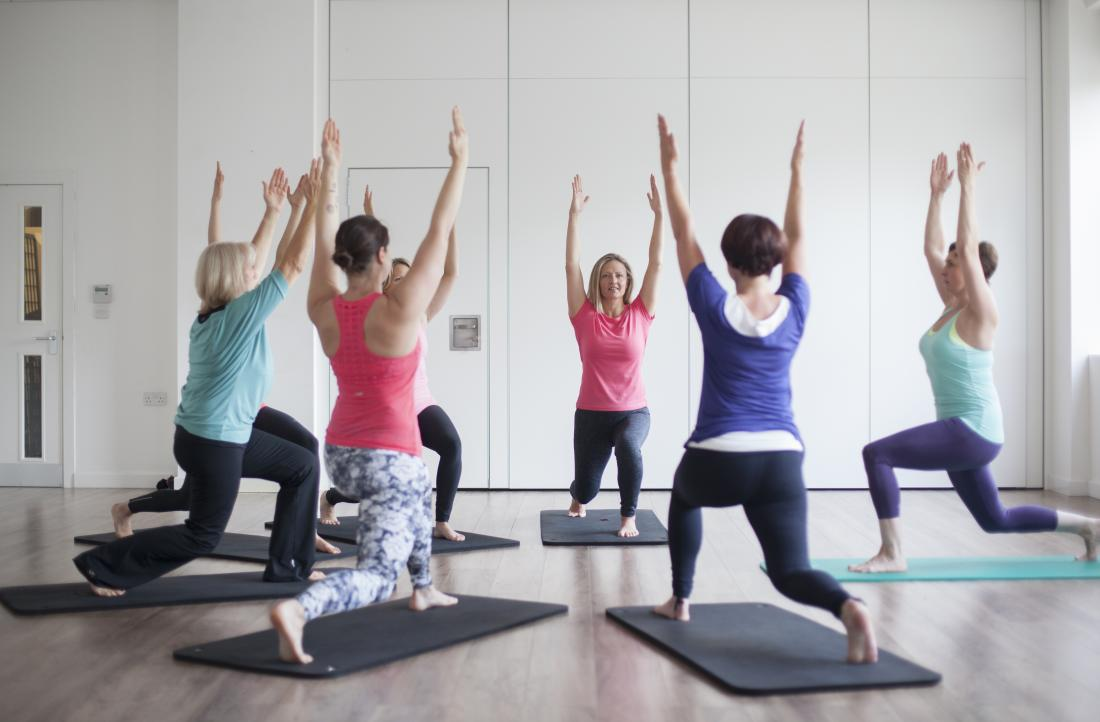 Exercise for asthma yoga