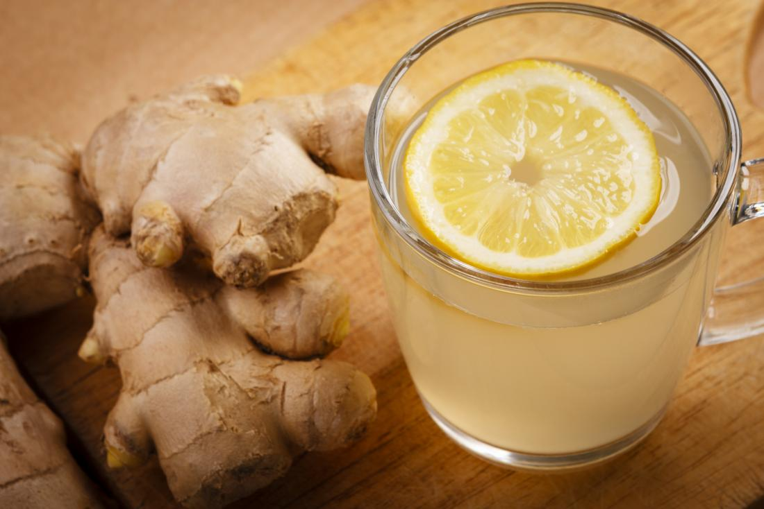natural pain killers ginger