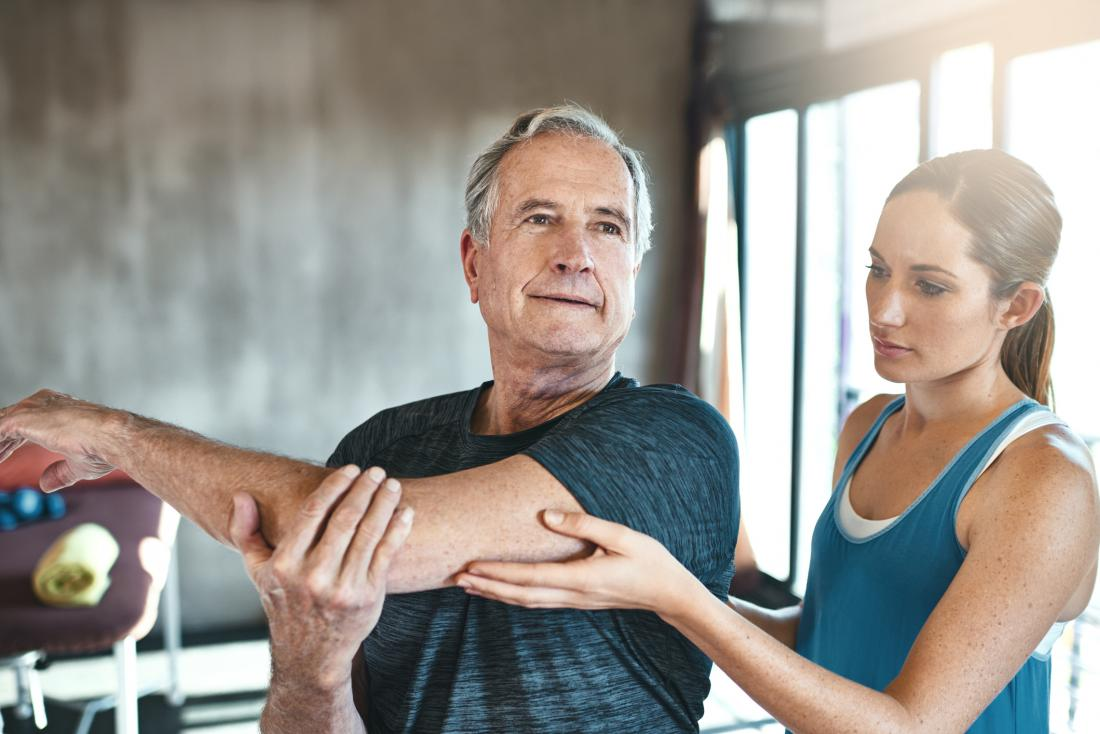Older adult physical therapy