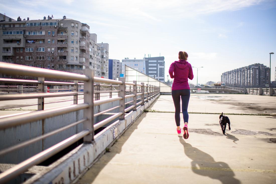 Lose belly fat walking
