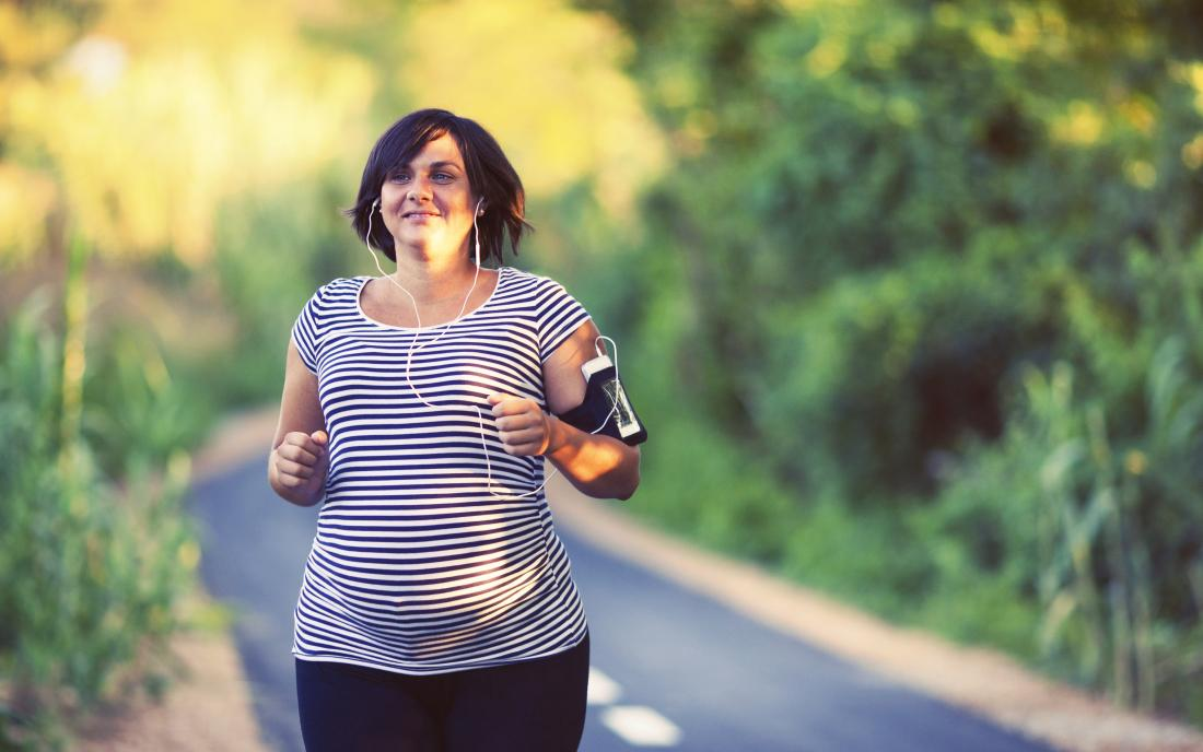 Lose fat safely while pregnant