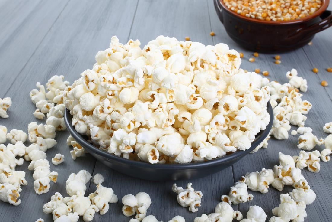 is popcorn good for weight gain
