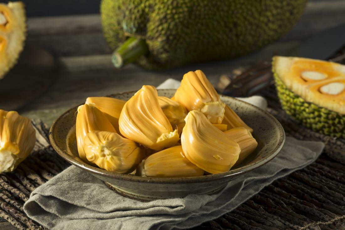 Jackfruit in bowl