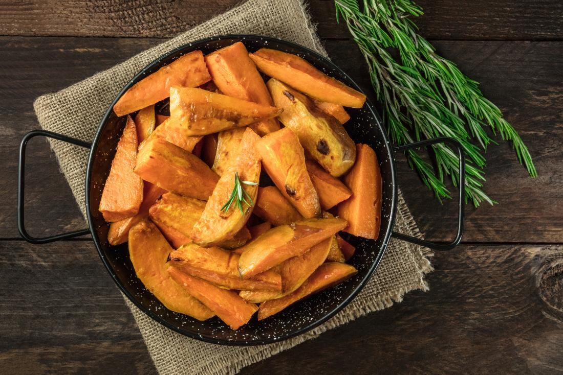Low glycemic foods sweet potato
