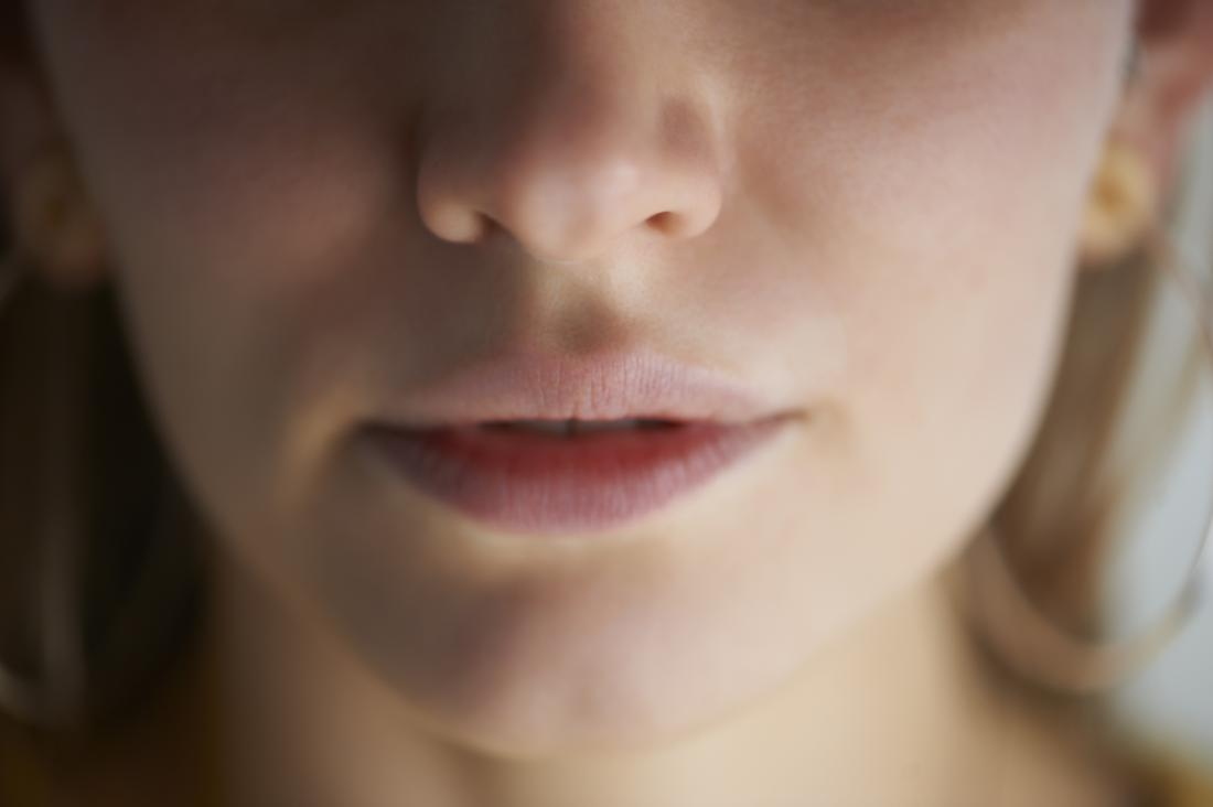 photo showing a person's nose