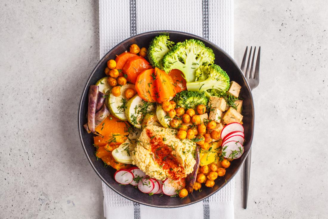 Vegetarian diet that helps you lose weight