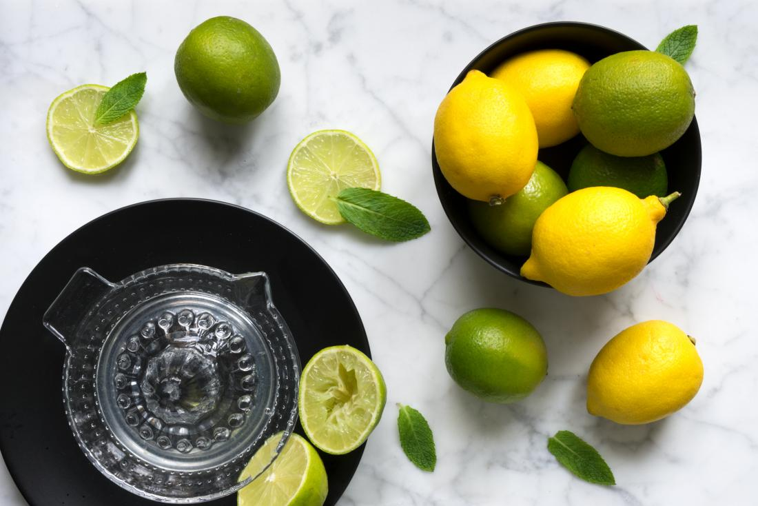 lemon vs. lime: differences in nutrition, benefits, and uses
