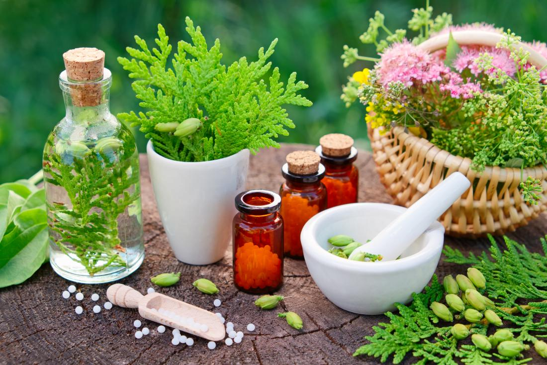 A variety of homeopathic remedies which may be used for asthma