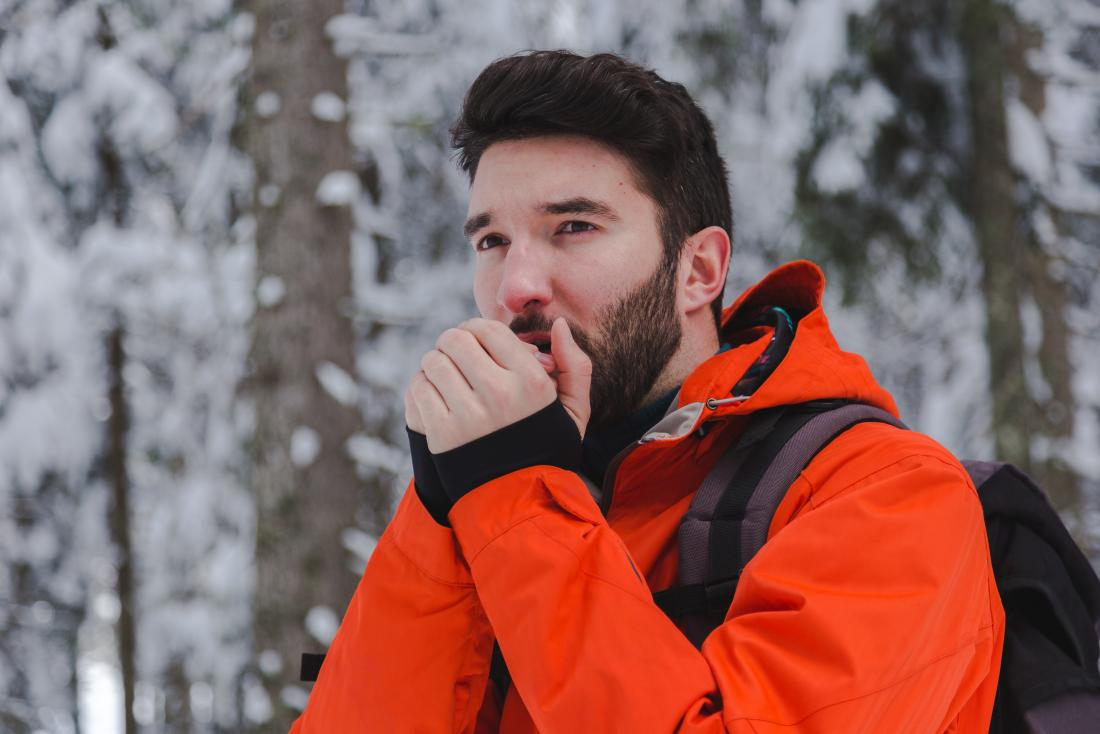 Cold, dry air can trigger asthma symptoms.