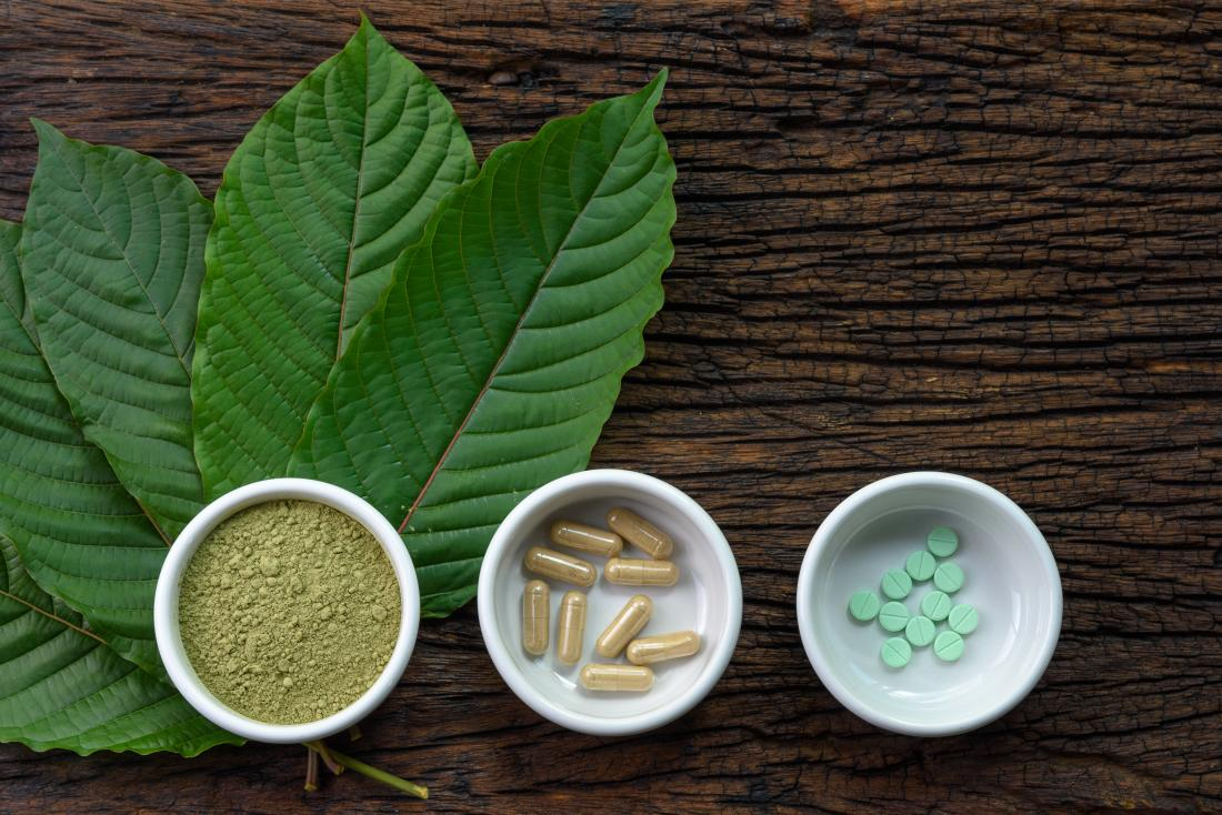Kratom plant which may help with depression
