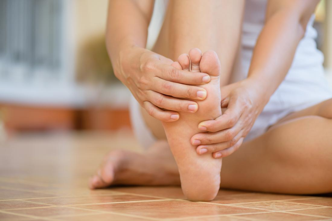 Pain in arch of foot: Causes, treatment, and stretches