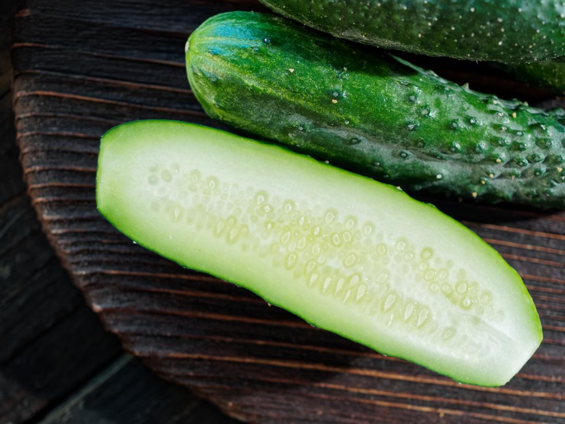cucumber which is a hydrating foods