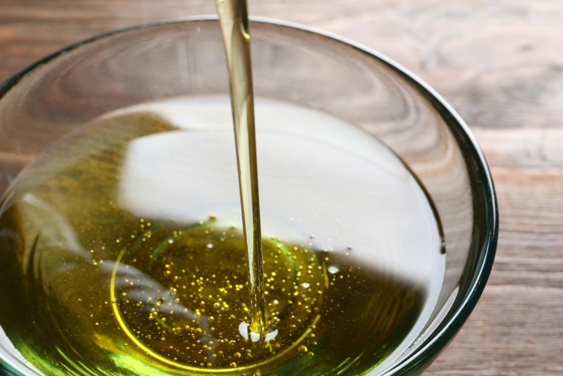 Olive oil to be used as as lube