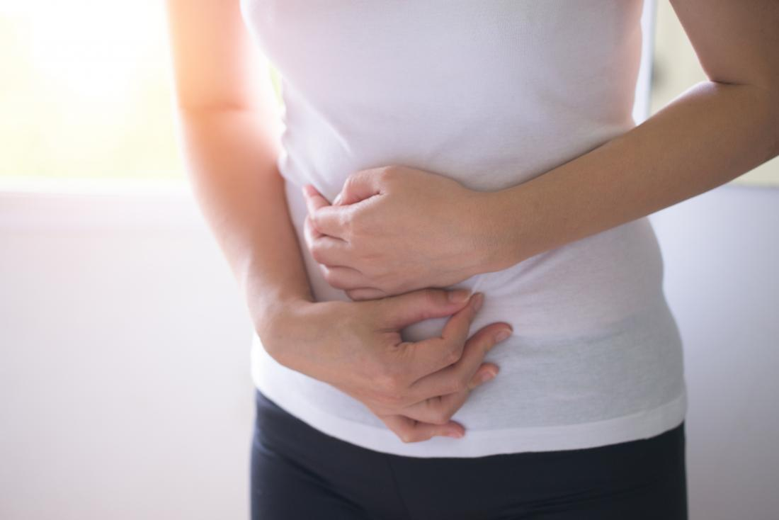 cramps around belly button during pregnancy