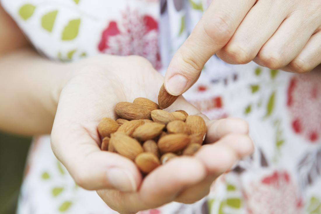 Uses of almonds in weight loss