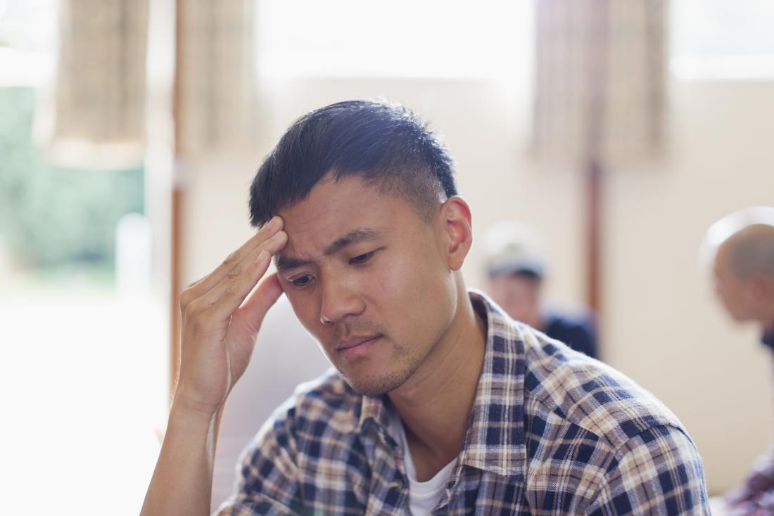 человек выглядит грустно, потому что чувствует химический дисбаланс в мозге