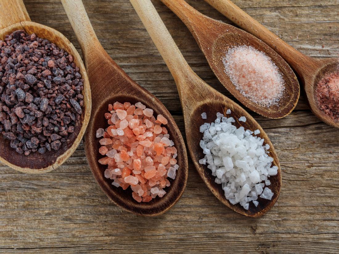 Sea salt vs. table salt: Differences and health benefits