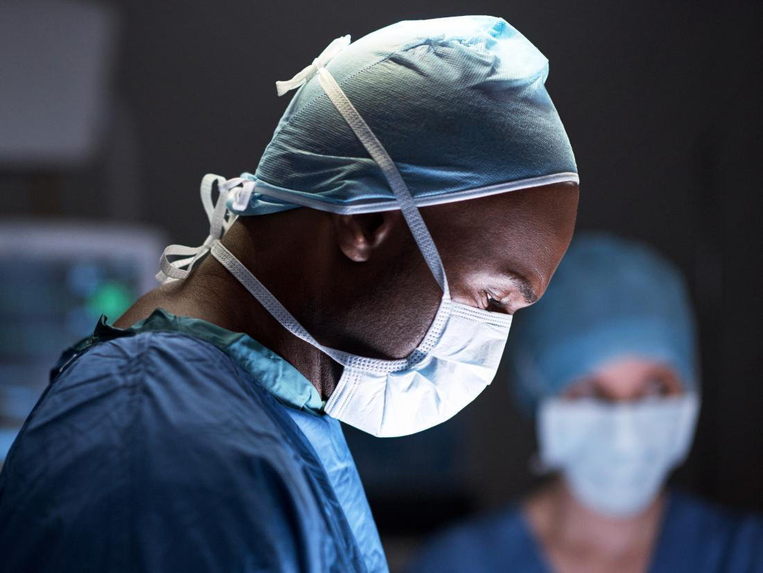 a surgeon doing an operation for an Transgender penis