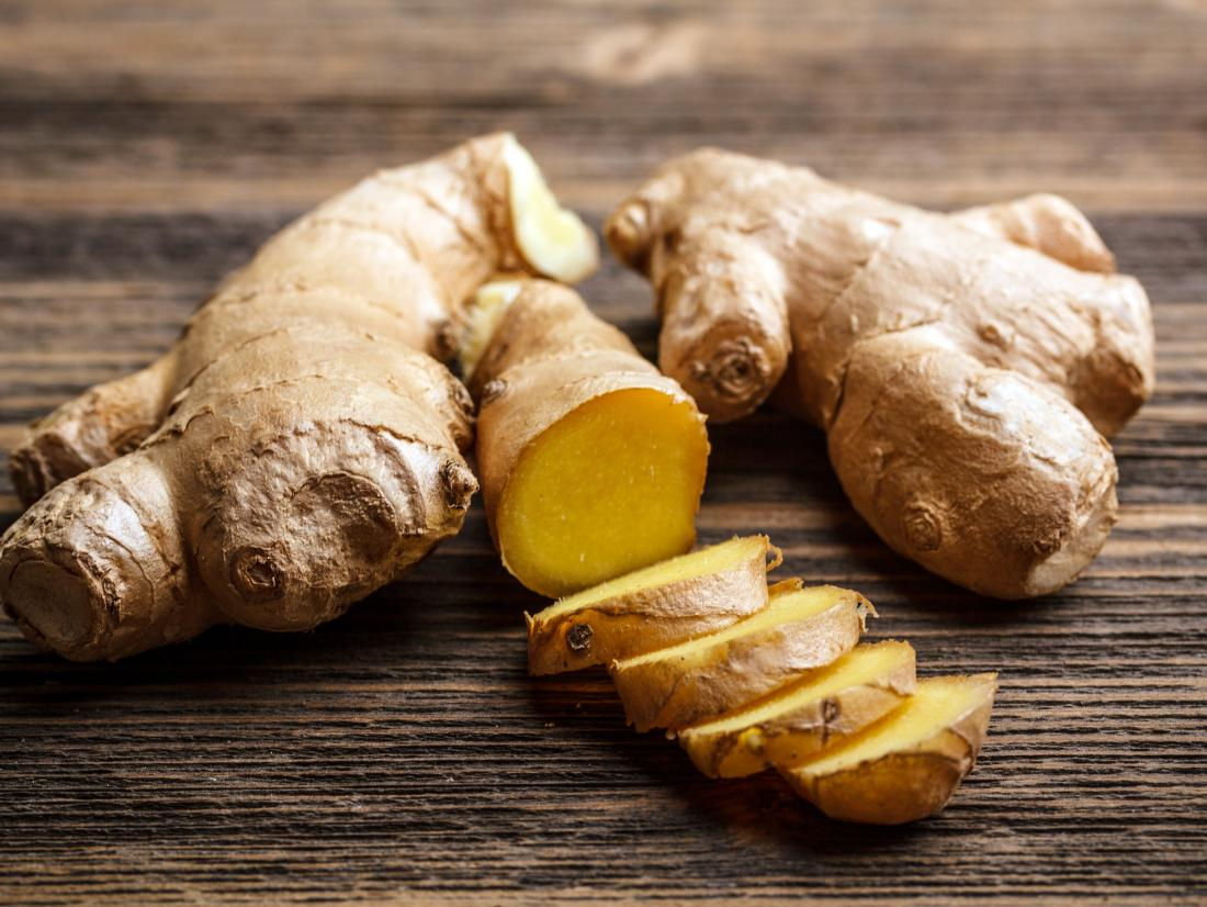 ginger which is a one of the foods for nausea