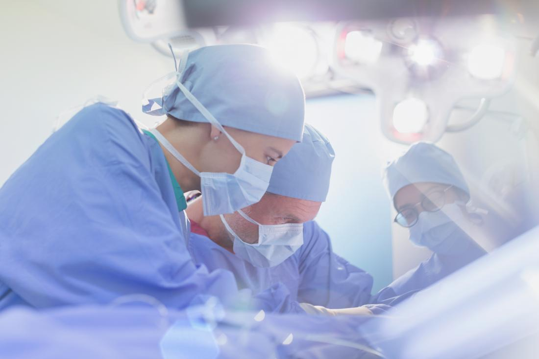 surgeons performing Fibroid surgery