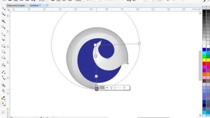 cara membuat logo dengan corel draw