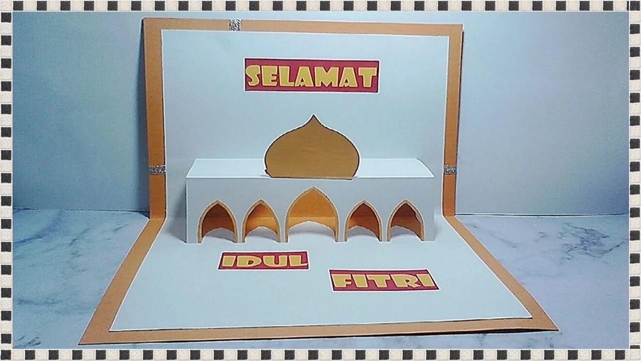 Kartu Ucapan Lebaran Tema Masjid Vidio Com