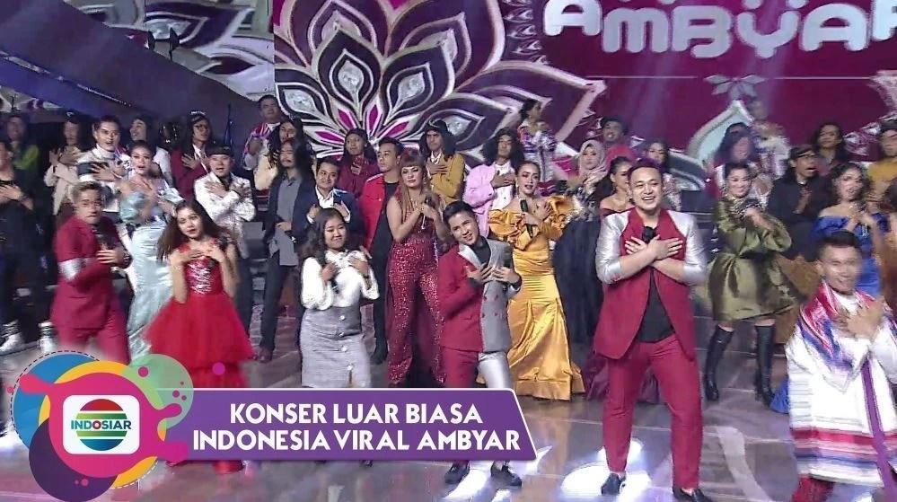 Kompak Goyang Luv Indosiar 25 Bareng Host Seluruh Pengisi