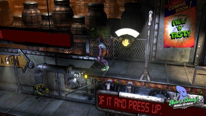 Oddworld: New 'n' Tasty Steam CD key | Buy cheaper! | ENEBA