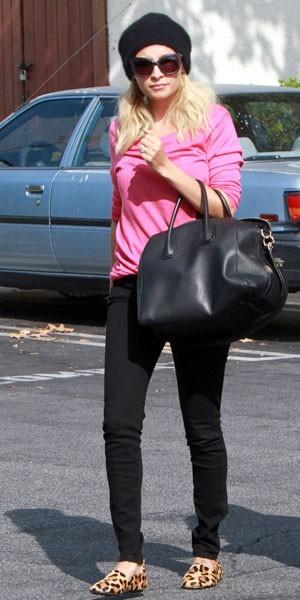 Les chaussons léopard de Nicole Richie en moins cher !