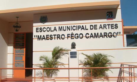 """Reprodução Facebook/Escola Municipal de Artes """"Maestro Fêgo Camargo"""""""