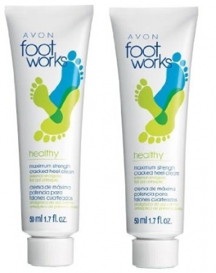 2 Foot Works Healthy Maximum Strength Cracked Heel Creams ...