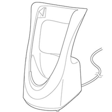 Panasonic WESSL41K7658 Charging Adapter Stand by Panasonic