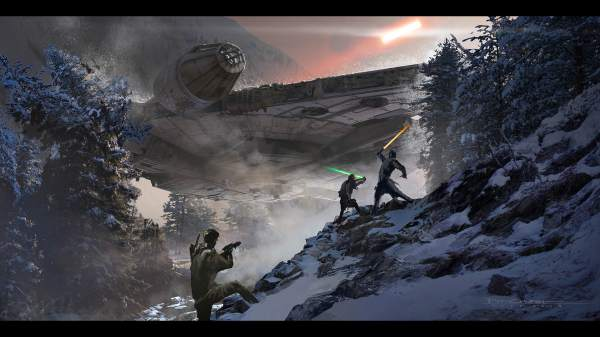 Star Wars Creators Reveal Awesome Force Awakens Concept Art