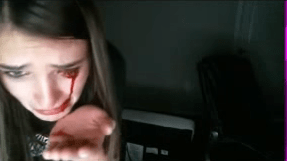 Gamer Girl Cries Blood Live On Twitch After Cat Attacks Her Screen Shot 2017 04 17 at 12.25.26