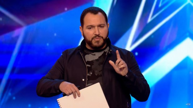 Heres The Exact Moment Britains Got Talent Magicians Did Their T Shirt Trick bgt itv